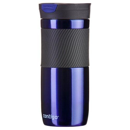 Термокружка Contigo Byron (0,47 л) синий термокружка 0 47 л contigo metra 0621
