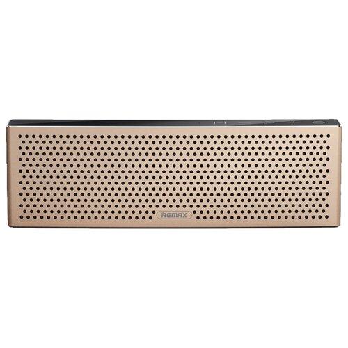 Портативная акустика Remax RB-M20 золотистыйПортативная акустика<br>