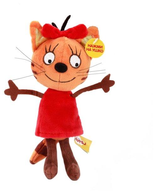 Мягкая игрушка Мульти-Пульти Три кота Карамелька 13 см