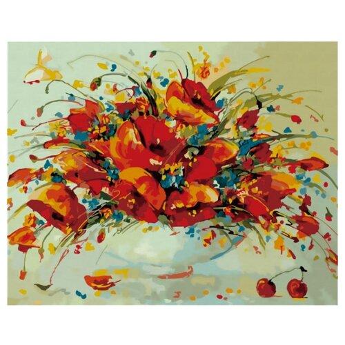 Белоснежка Картина по номерам Весенние маки 40х50 см (832-АВ), Картины по номерам и контурам  - купить со скидкой