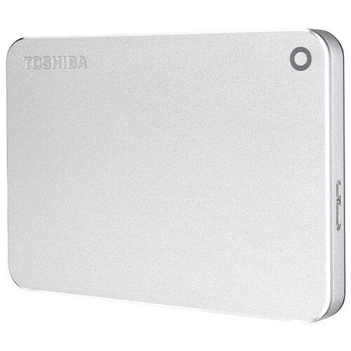 Фото - Внешний HDD Toshiba Canvio Premium (new) 2 ТБ серебристый металлик футболка wearcraft premium printio 2 стороны