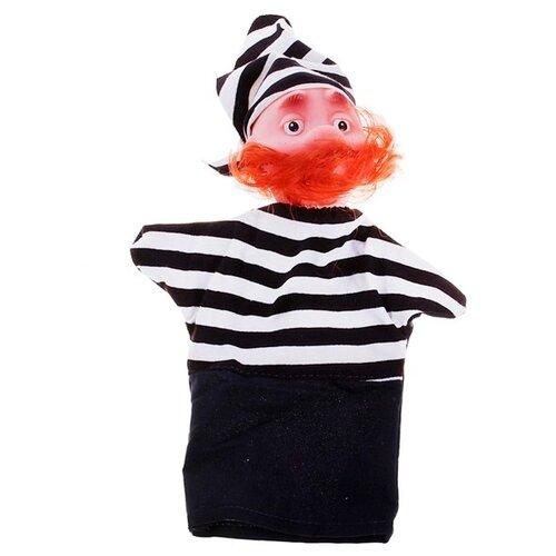 Фото - ОГОНЁК Кукла-перчатка Пират (С-884) черный/белый огонёк кукла перчатка бегемот с 1156