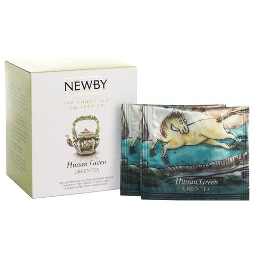 Чай зеленый Newby Hunan green в пирамидках , 15 шт. hunan dan 123456