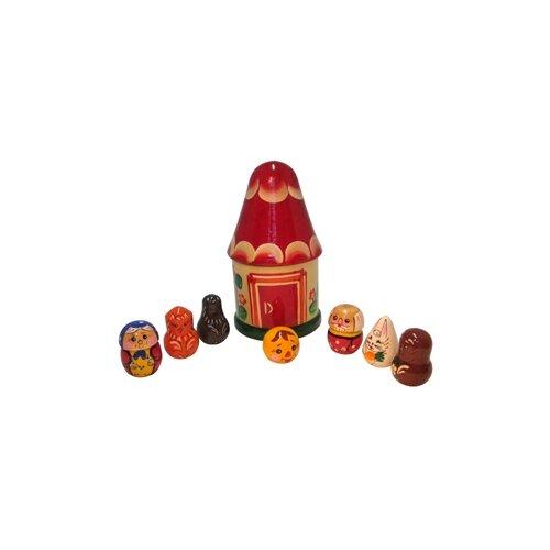 Купить RNToys Пальчиковый театр в домике Колобок (Д-397), Кукольный театр