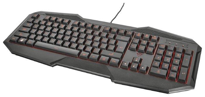 Клавиатура и мышь Trust GXT 788 Black USB