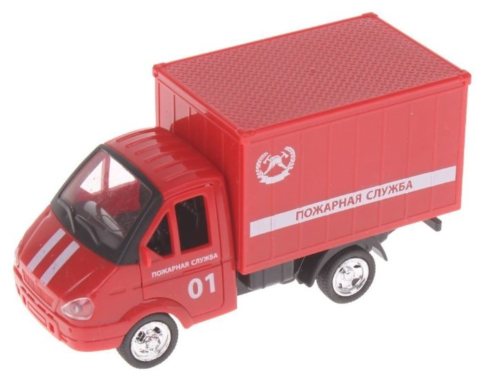 Фургон Play Smart Автопарк (6440) в ассортименте 1:32