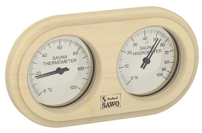 Термогигрометр SAWO 222-THP (Сосна (P), 255x140 мм)
