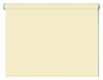 Рулонная штора DDA Универсальная однотонная (лимонный)