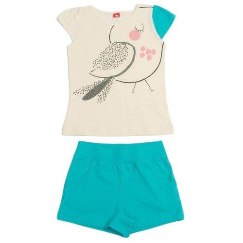 Комплект одежды cherubino размер 110, бирюзовыйКомплекты и форма<br>