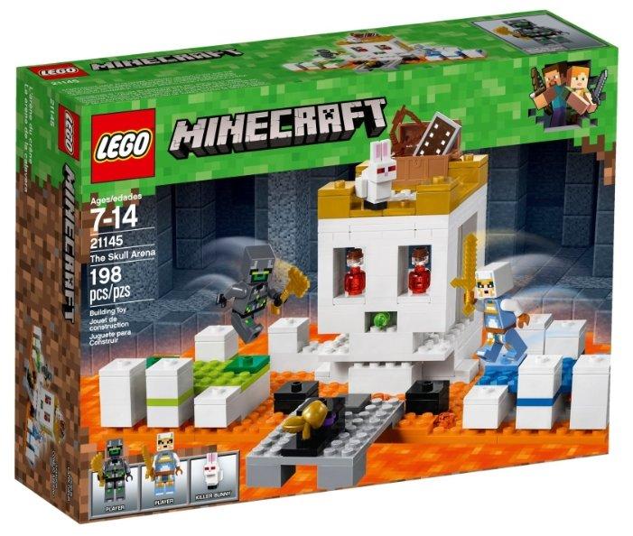 Конструктор LEGO Minecraft 21145 Арена-череп