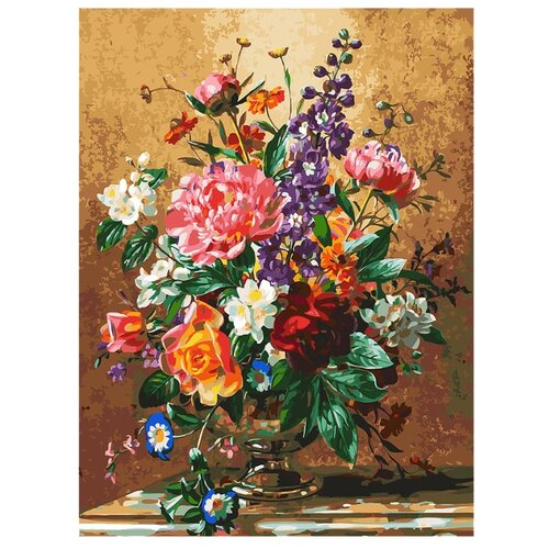Белоснежка Картина по номерам Роскошный букет 40х50 см (302-AS), Картины по номерам и контурам  - купить со скидкой