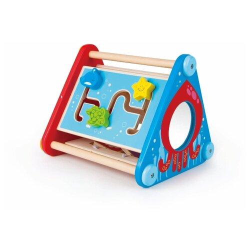 Развивающая игрушка Hape Е0434 красный/синий/бежевый