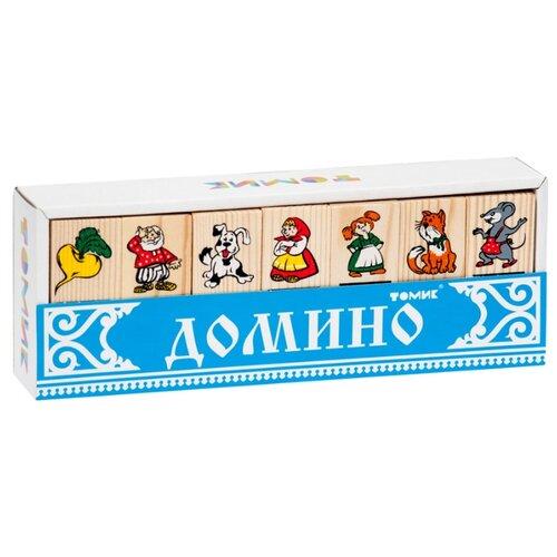 цена на Настольная игра Томик Домино Репка