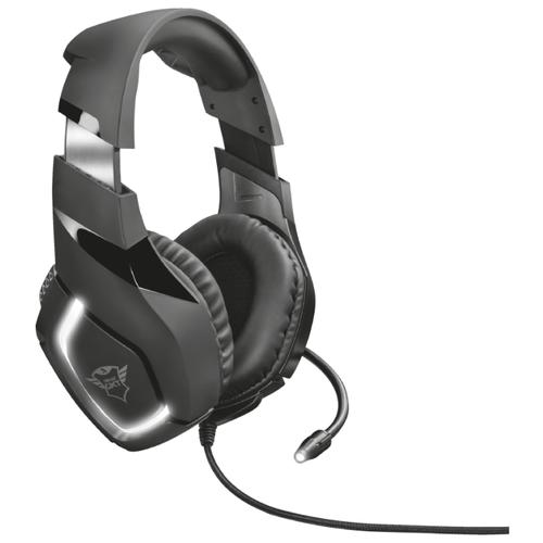 Компьютерная гарнитура Trust GXT 380 Doxx Illuminated Gaming Headset черный гарнитура