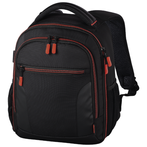 Фото - Рюкзак для фотокамеры HAMA Miami Camera Backpack 150 black/red veevanv 3 pcs set canvas school bag exo letter printed backpack children shoulder bag fashion mochila girls bookbag boy backpack