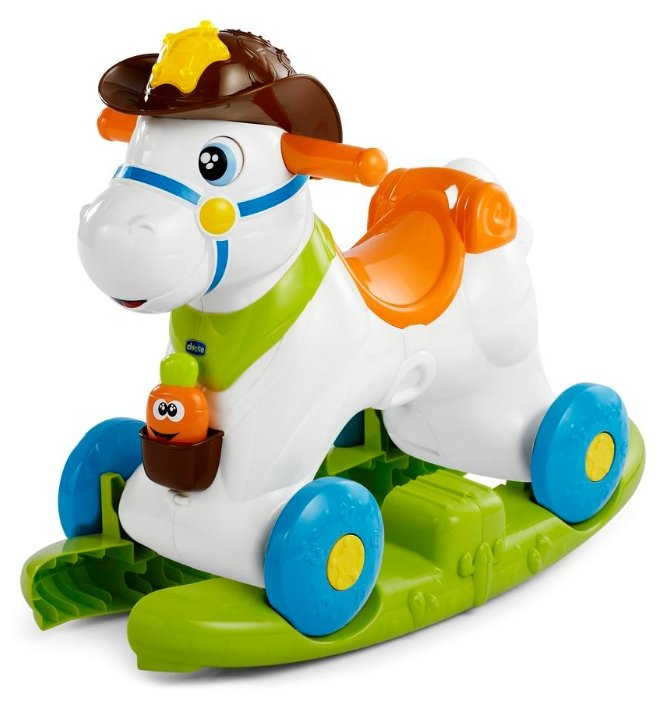 Каталка-качалка Chicco Baby Rodeo (79070) со звуковыми эффектами