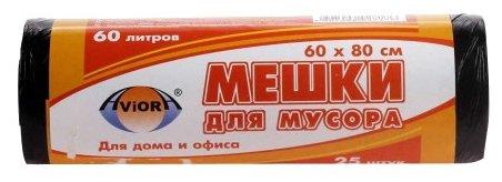 Мешки для мусора Aviora 106-018 60 л (25 шт.)