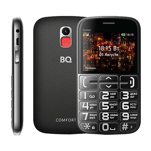 Купить Телефон BQ 2441 Comfort черный
