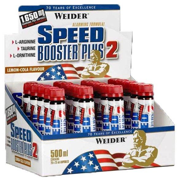 Предтренировочный комплекс Weider Speed Booster Plus 2 (20 шт.)
