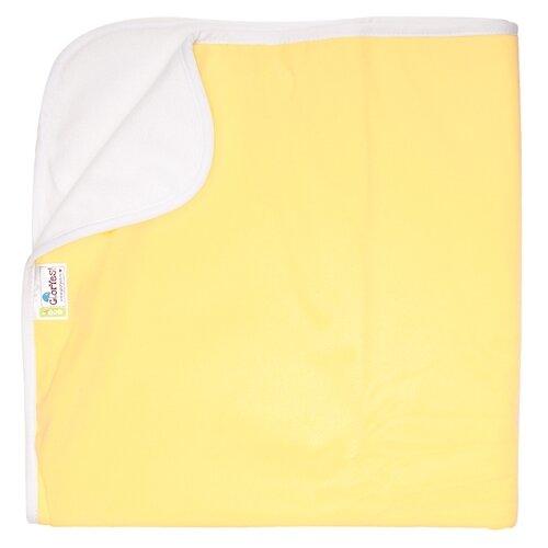 Купить Многоразовые пеленки GlorYes! впитывающая 68х80 нежно-желтый, Пеленки, клеенки