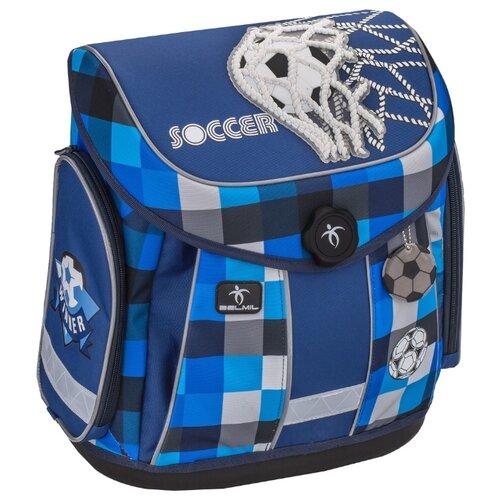 Belmil Ранец Mister Soccer (405-35/567), голубой
