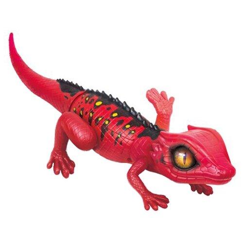 Купить Интерактивная игрушка робот ZURU Robo Alive Затаившаяся ящерица красный, Роботы и трансформеры