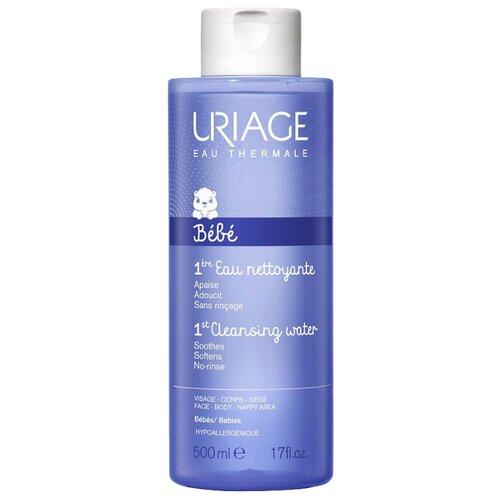 Uriage Очищающая Первая вода, 500 мл uriage очищающая мицеллярная вода для гиперчувствительной кожи 500 мл