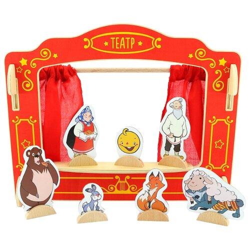 Купить Мир деревянных игрушек Кукольный театр (Д170)