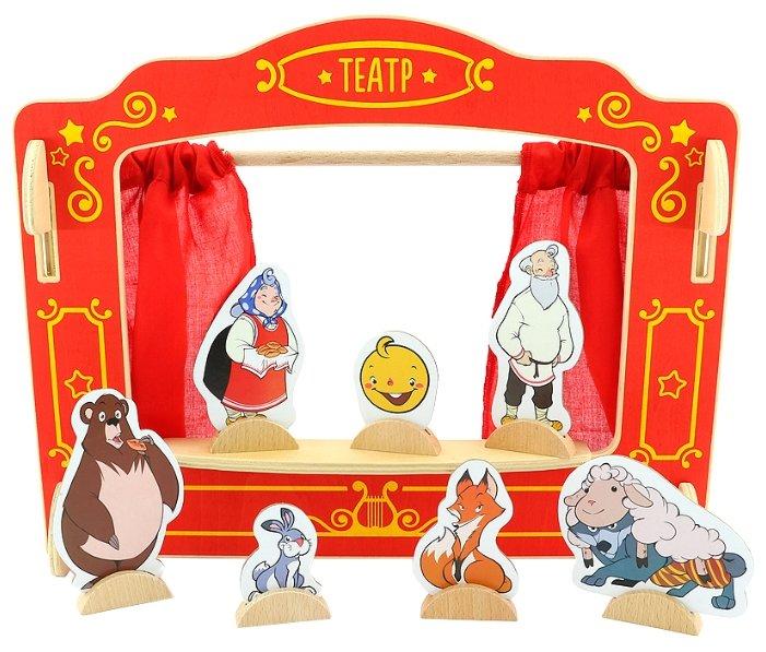 Игрушки из дерева Кукольный театр (Д170)