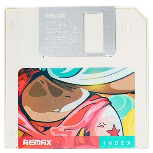 Аккумулятор Remax Floppy Disk Power Bank RPP-17 5000 mAh, белый