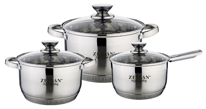 Набор посуды Zeidan Z-50625 6 пр.