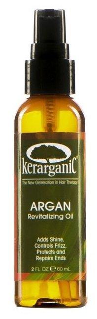 KERARGANIC Масло аргановое несмываемое восстанавливающее для волос