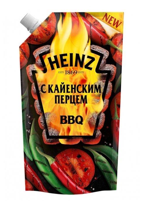 Кетчуп Heinz BBQ с кайенским перцем