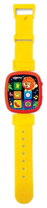 Интерактивная развивающая игрушка Азбукварик Чудо-часики Мой львёнок