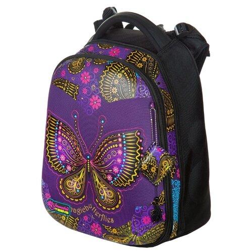 Hummingbird Рюкзак Magic Butterflies (T85), черный / фиолетовый hummingbird рюкзак miss b t20 серый