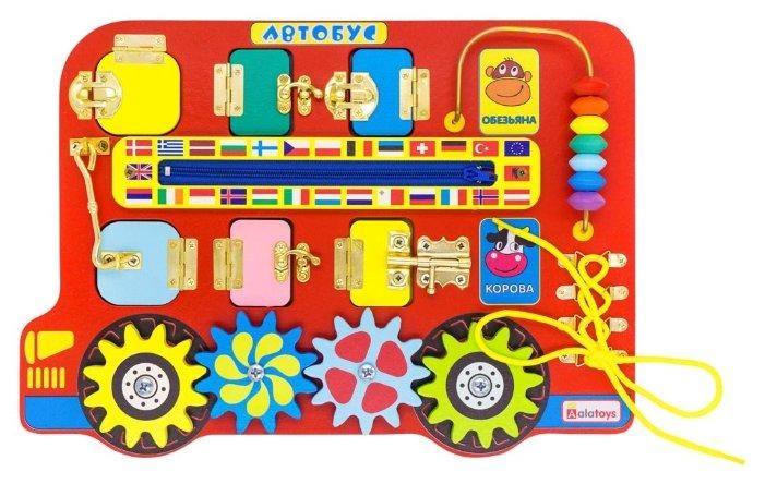 Бизиборд Alatoys Автобус