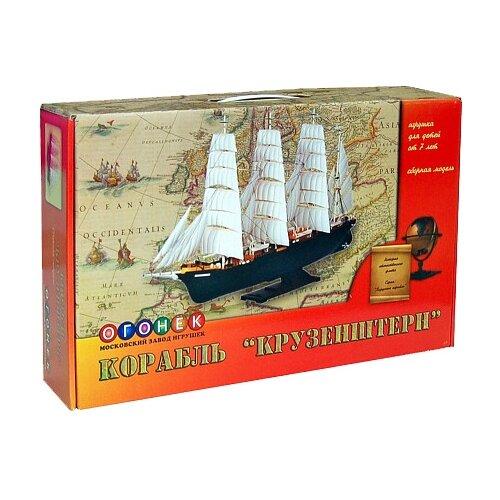 Купить Сборная модель ОГОНЁК Корабль Крузенштерн (С-43) 1:200, Сборные модели