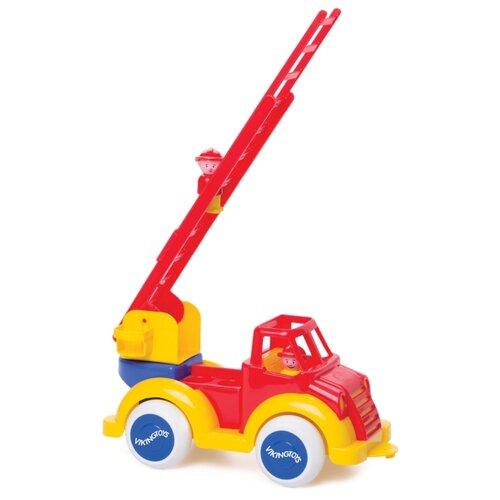 Пожарный автомобиль Viking Toys Super Jumbo (1511) красный/желтый