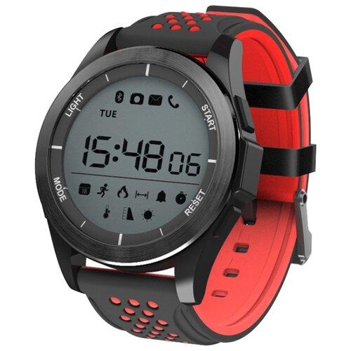 Часы NO.1 F3 черный/красный