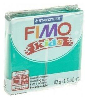 Полимерная глина FIMO Kids 42 г зеленый (8030-5)