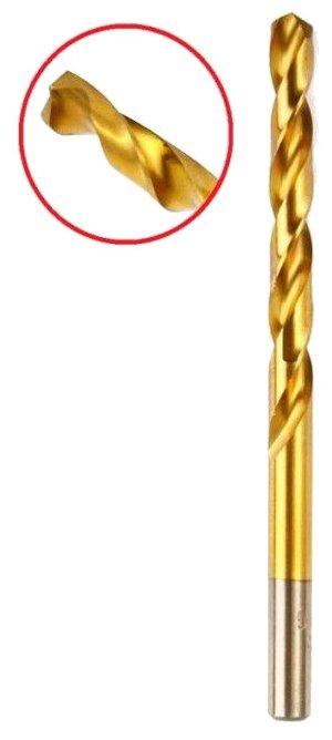 Hammer Сверло Flex 202-118 DR MT 8,0мм 117 75мм металл, DIN338, HSS-G, TIN 30803
