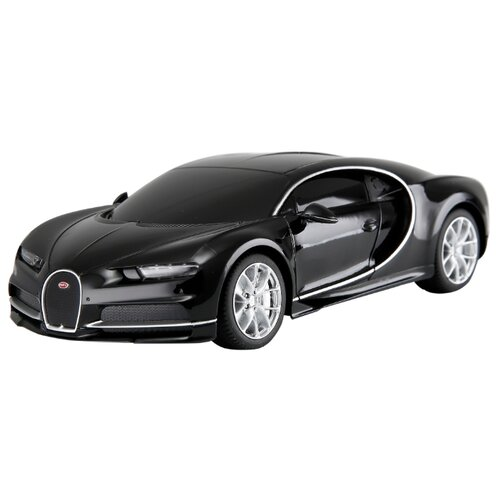 цена на Гоночная машина Rastar Bugatti Chiron (76100) 1:24 18.9 см черный