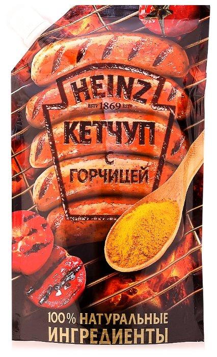 Кетчуп Heinz С горчицей, дой-пак
