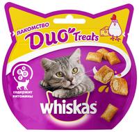 Лакомство для кошек Whiskas Duo Treats c курицей и сыром 40 г