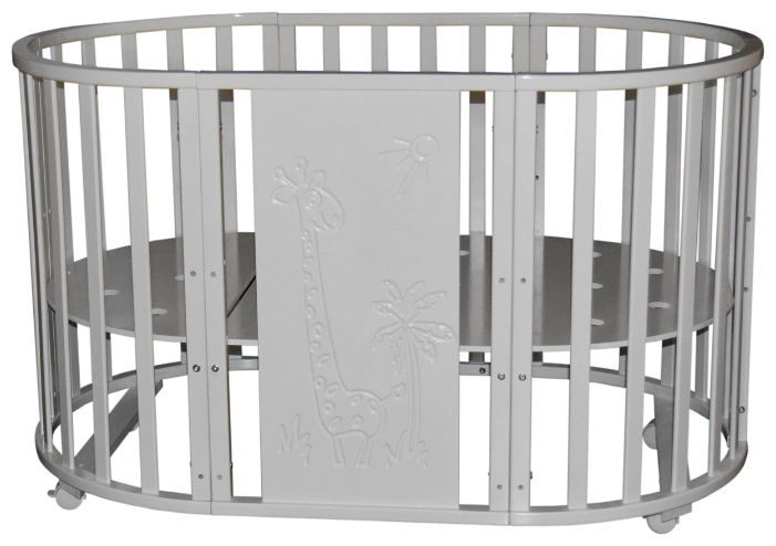 Кроватка Кедр Sofia 1 Giraffe 6в1 (колесо)