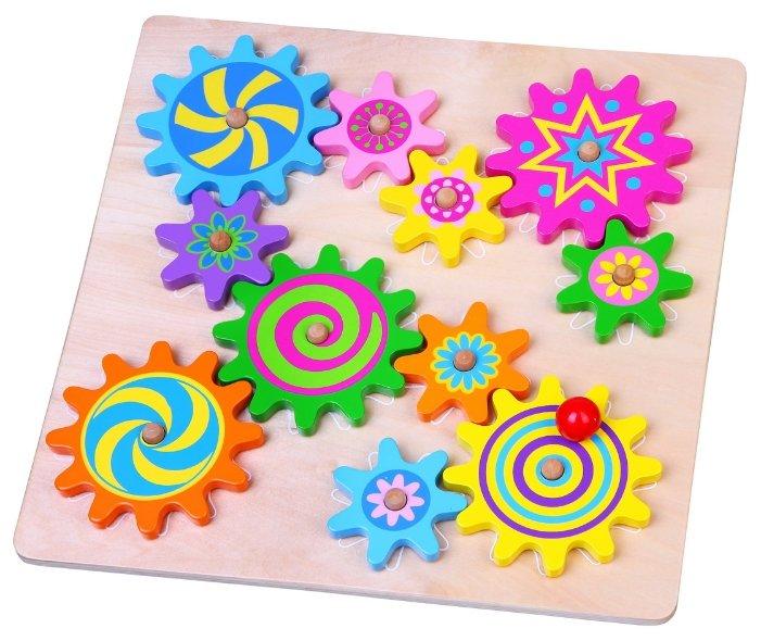 Развивающая игрушка Viga Шестеренки 59854