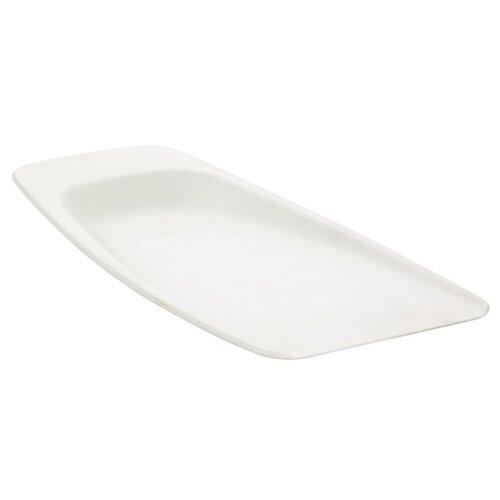Разделочная доска Tescoma РRESTO 26х16 см (совок) белый