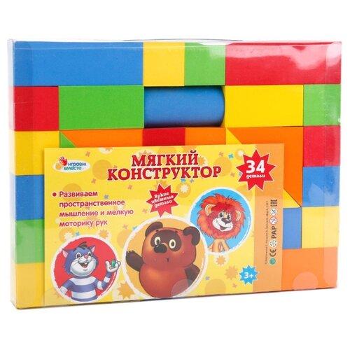 Кубики Играем вместе Союзмультфильм B522089-RДетские кубики<br>