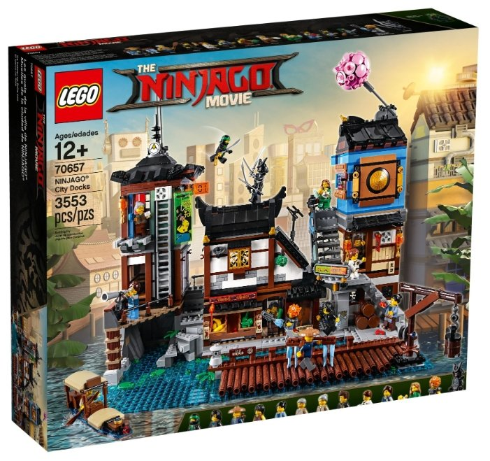 Конструктор LEGO The Ninjago Movie 70657 Порт Ниндзяго Сити
