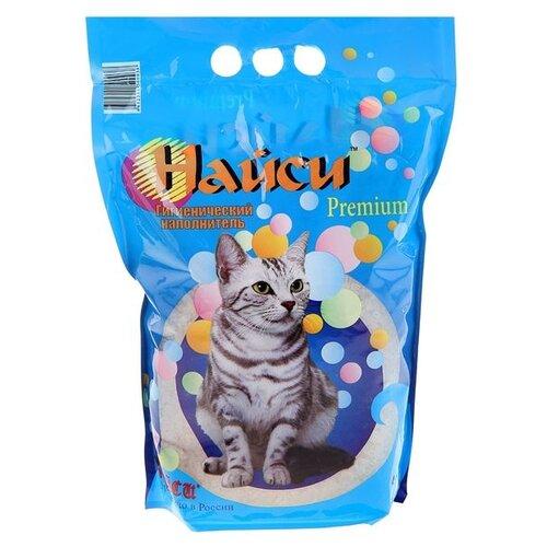 Наполнитель Найси Premium (4.5 л)Наполнители для кошачьих туалетов<br>